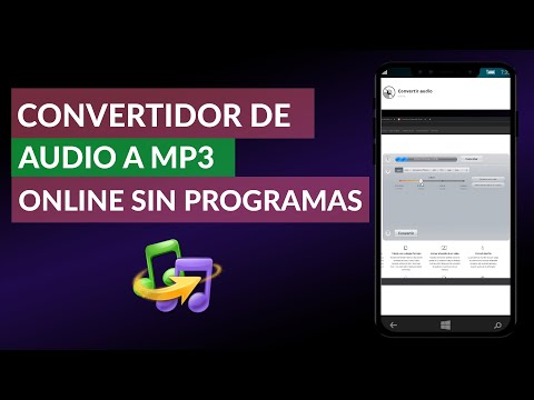 Convertidor de Audio a MP3 Online Sin Programas - Convertir WAV WMA M4A a MP3