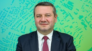 Łukasz Kulik w redakcji 'Mojej Ostrołęki'