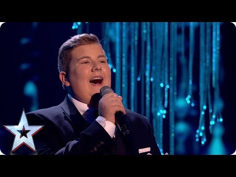 Kyle Tomlinson covers Christina Perri hit for your votes | Grand Final | Britain's Got Talent 2017