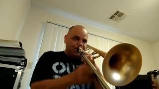 Trombone improvisation on a Cuban song.