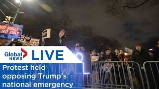 LIVE: Protests held opposing Trump