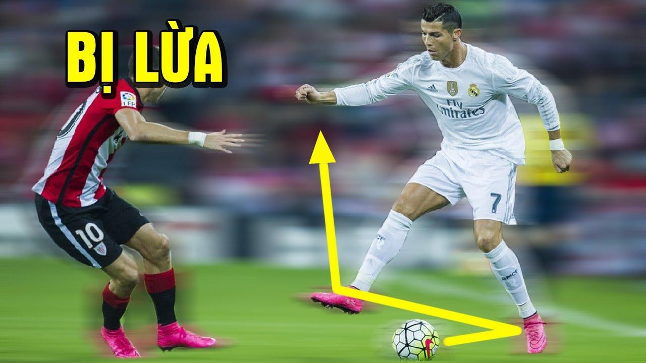 Đừng xem clip nếu bạn nghĩ Cristiano Ronaldo không biết rê bóng như Messi