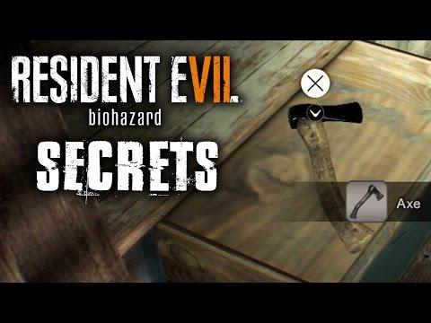 Resident Evil 7 Walkthrough - ALTERNATIVE ENDINGS / SECRET ROOM / AXE LOCATION (Part 2)