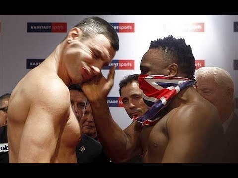 Dereck Chisora Crazy Moments - 2018