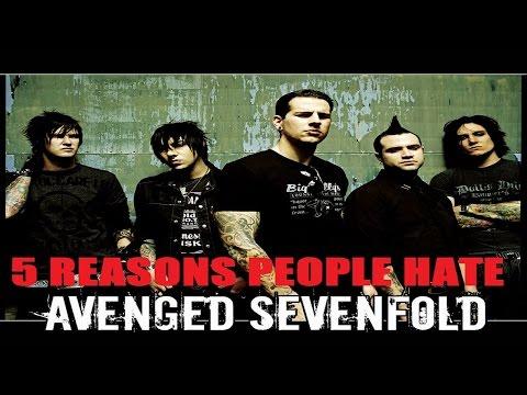 5 Reasons People Hate Avenged Sevenfold