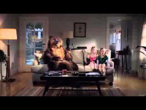 Tempur Pedic Bear Commercial