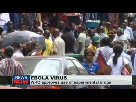 WHO approves experimental drugs for Ebola treatment in West Africa
