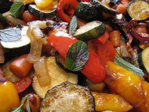 Mediterranean Summer Vegetables Side Dishes