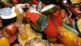 Mediterranean Summer Vegetables Side Dishes