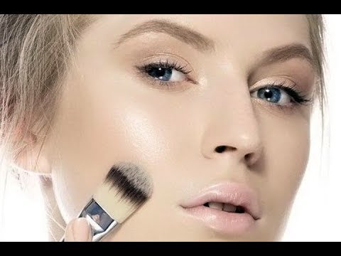 Как сделать сияющий макияж  для жирной/комбинированной кожи