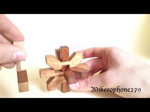 Tutorial - Snowflake/Bamboo Wood Puzzle