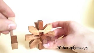 Tutorial - Snowflake/bamboo Wood Puzzle (update)