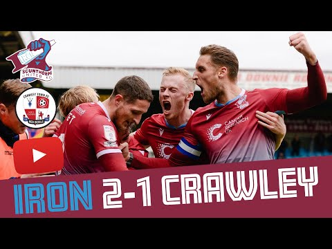 Scunthorpe Crawley Town Goals And Highlights