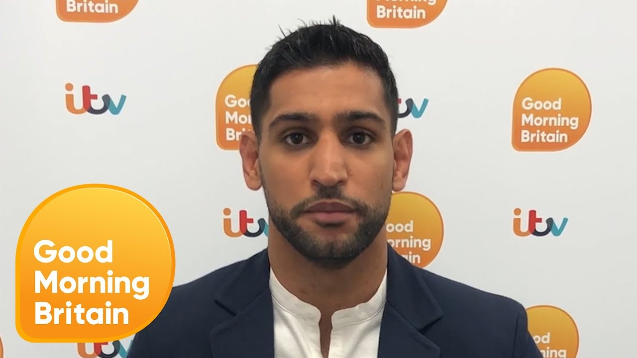 Amir Khan Gets the Same Buzz From Charity Work as From Boxing | Good Morning Britain