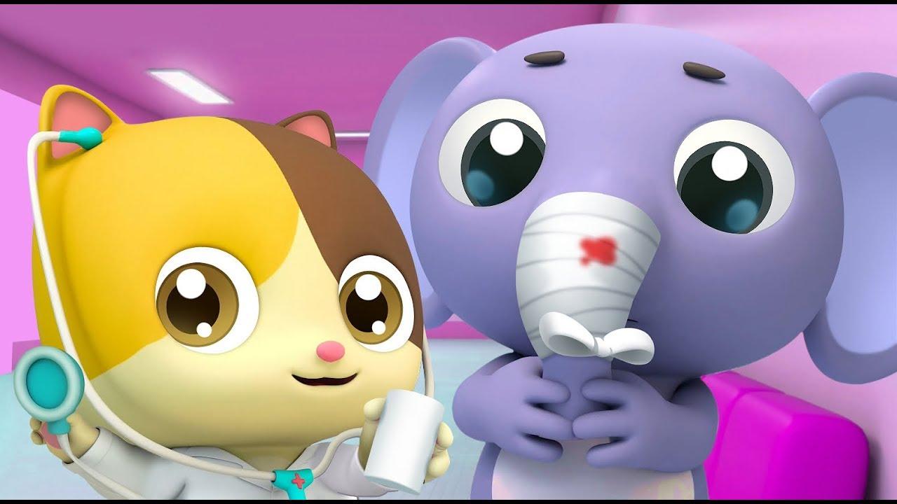 Bayi Kucing Pergi Ke Rumah Sakit | Dokter Kecil Timi ...