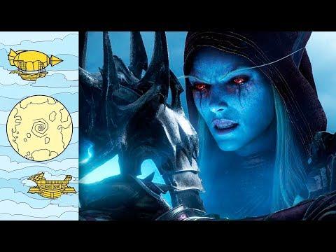 Что здесь происходит?! World Of Warcraft: Shadowlands | Повелители Смерти вышли из тени!