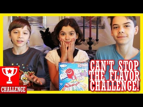 AIRHEADS CAN'T STOP THE FLAVOR CHALLENGE!  |  KITTIESMAMA