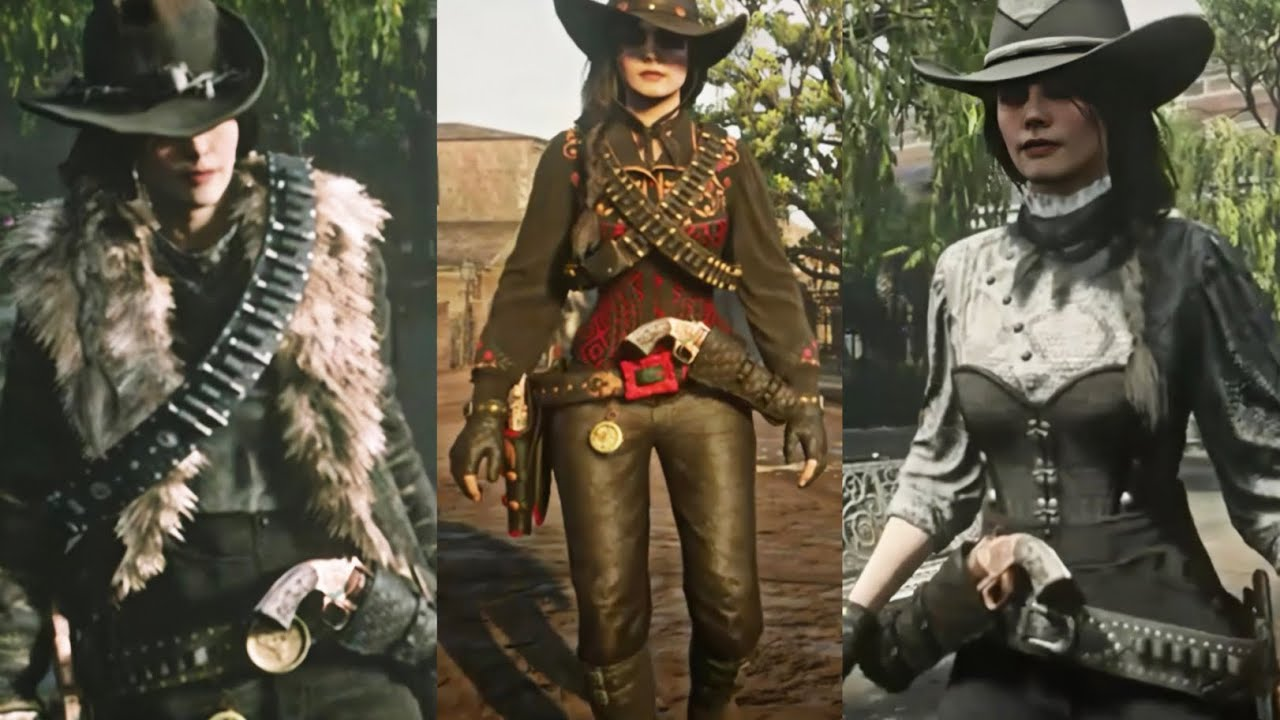 Red Dead Online  Community Outfits  Outfit Ideas