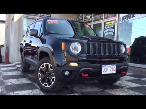 2016 Jeep Renegade Trailhawk Back Up Camera Heated Seats 4x4 Suv Youtube