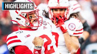 Highlights: Martinez Scores 3 Touchdowns in Win Nebraska at Maryland Nov. 23, 2019