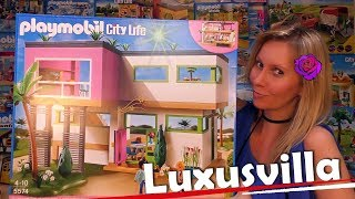 PLAYMOBIL 🏡 Luxusvilla 5574 Unboxing City Life