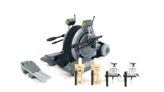 LEGO Star Wars Corporate Alliance Tank Droid Review! 7748! (4K Quality!)