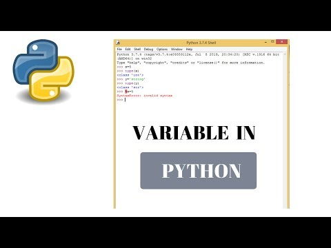 #5 Python Tutorial for Beginners | Variable in python thumbnail