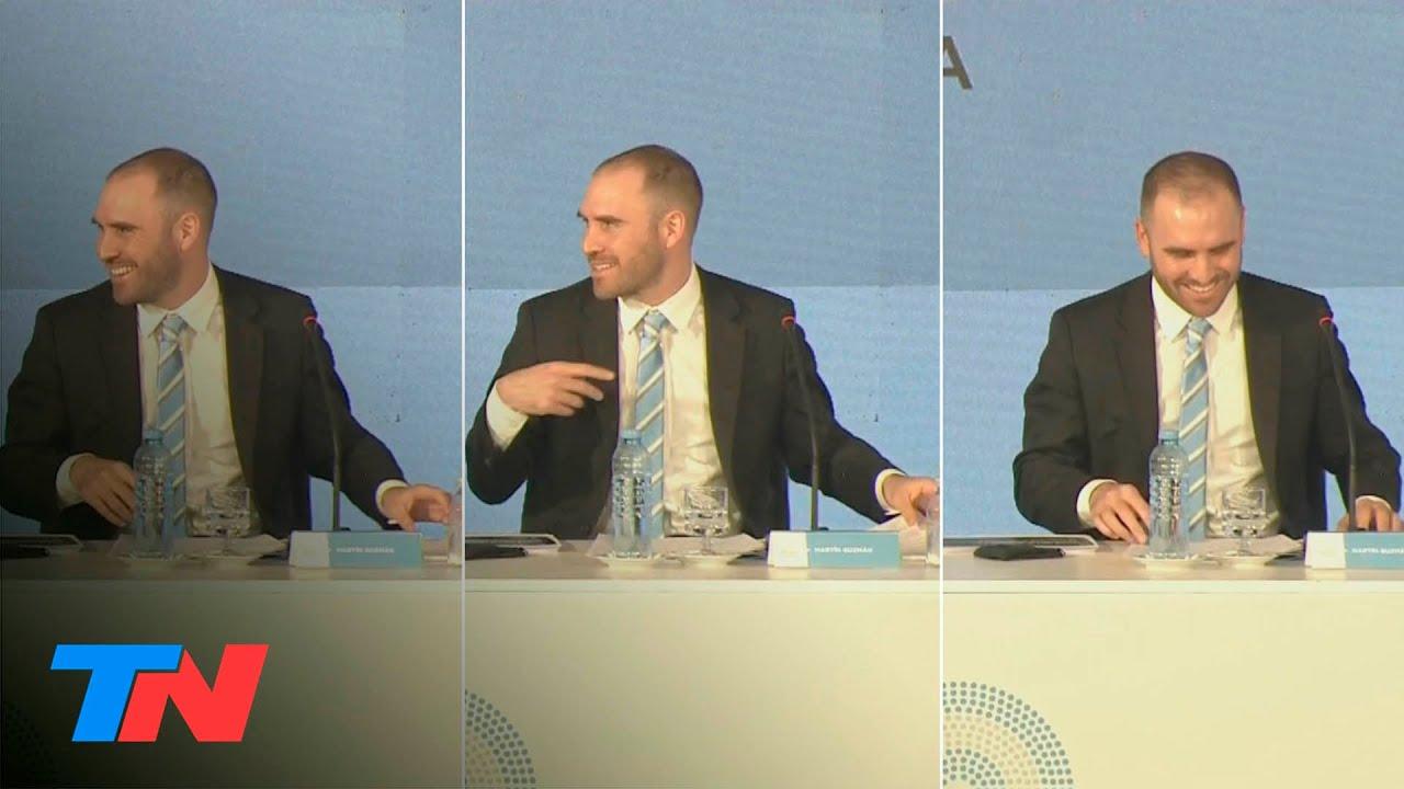 """""""Yo también puedo sarasear hasta que esté"""": el blooper de Martín Guzman con el micrófono abierto"""