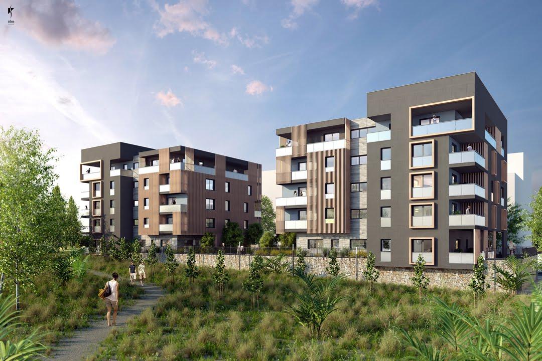 Les hauts du parc programme immobilier neuf montpellier - Appartement port marianne montpellier ...