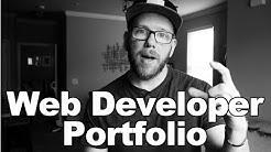 How to Make an Effective Web Developer Portfolio Site!