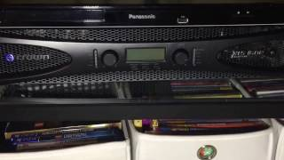 Crown XLS 1502 DRIVECORE amplifier-- home stereo and theater
