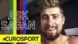 Peter Sagan On His Stage 17 Crash | Ask Sagan | Tour de France 2018