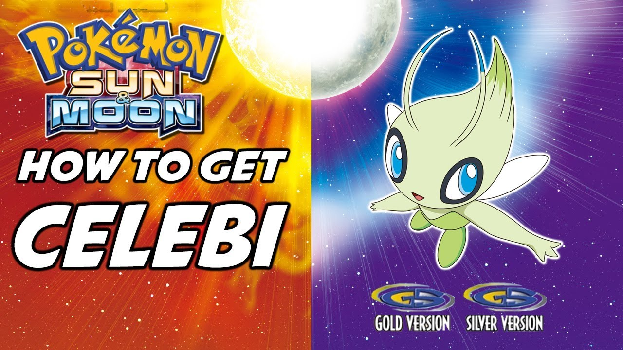 How To Get Celebi In Pokemon Sun And Moon Pokemon Gold And Silver Eshop Bonus Youtube