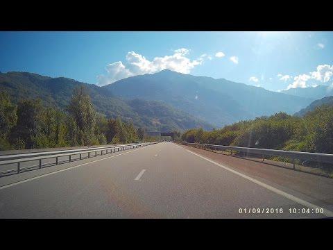 Dashcam ⁞ France ⁞ A43 Autoroute de la Maurienne • CDC3350fd •
