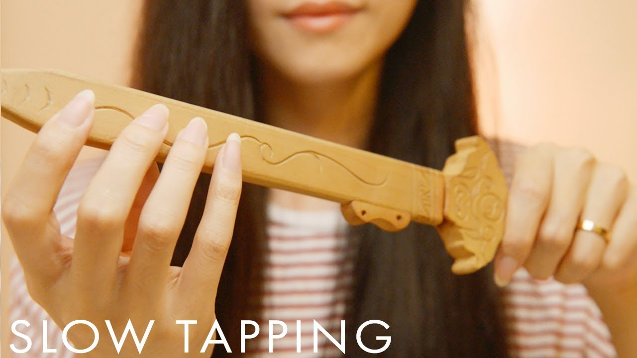 ASMR Slow Tapping for Deep Sleep (No Talking)