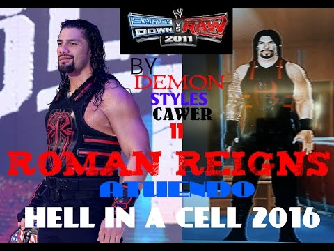 Thumbnail: Roman Reigns Atuendo (Hell In A Cell 2016) CAW Formula SVR 2011 PS2 By:Demon Styles CAWER 11