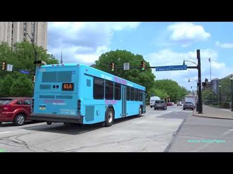 Buses in Pittsburgh, Pennsylvania 2018