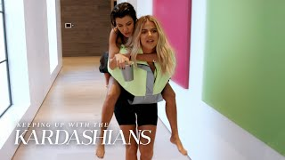 Khloe Drags Kourtney Kardashian To Drunk Karaoke | KUWTK | E!