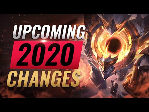 UPCOMING CHANGES: 10 MOST ANTICIPATED Changes Coming in 2020 - League of Legends Season 10 - 동영상