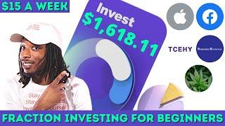 Stash Portfolio | H๐w I Made $1600 Investment On The Stash App | Fractional Shares Investing