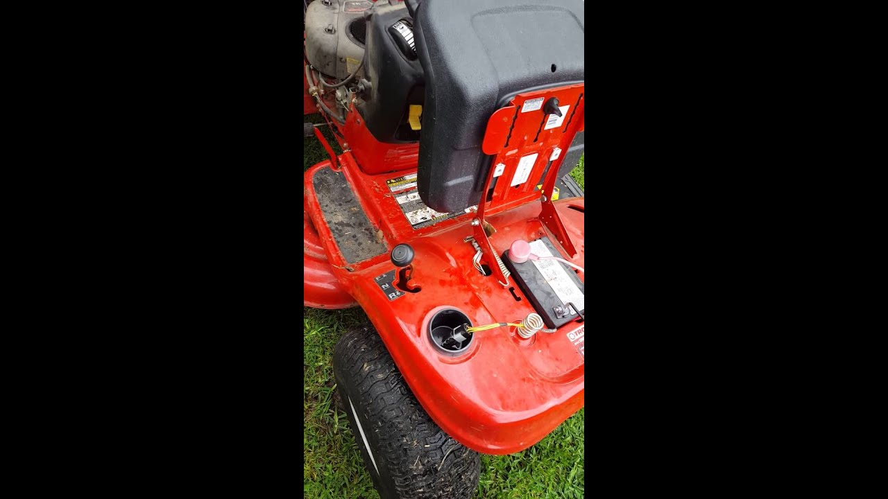 Troy Bilt Solenoid Wiring Diagram Colt Great Installation Of Built 12 Volt Images Gallery Solution For Pony Riding Mower Will Not Crank Youtube Rh Com Kohler Ignition