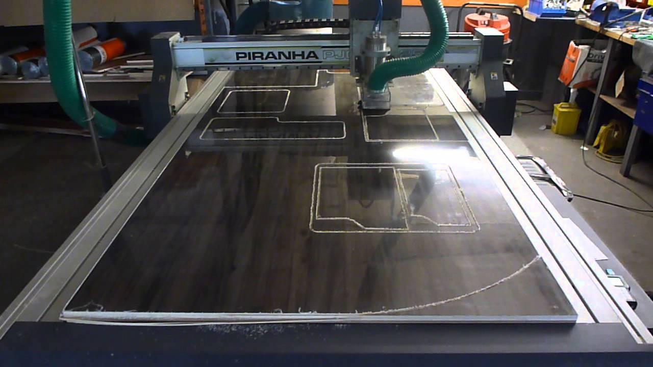 Campervan Conversion CNC Furniture