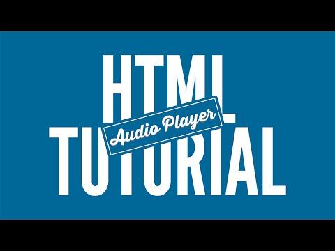 Audio-Player für alle Browser - HTML Tutorial • [German] [HD]