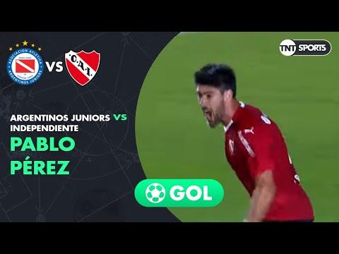 Pablo Pérez (0-1) Argentinos Juniors vs Independiente | Primera Rueda (ida) - Copa Superliga 2019