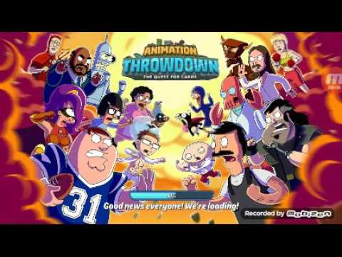Ooo Card's Animation Throwdown TQFC  Ep1