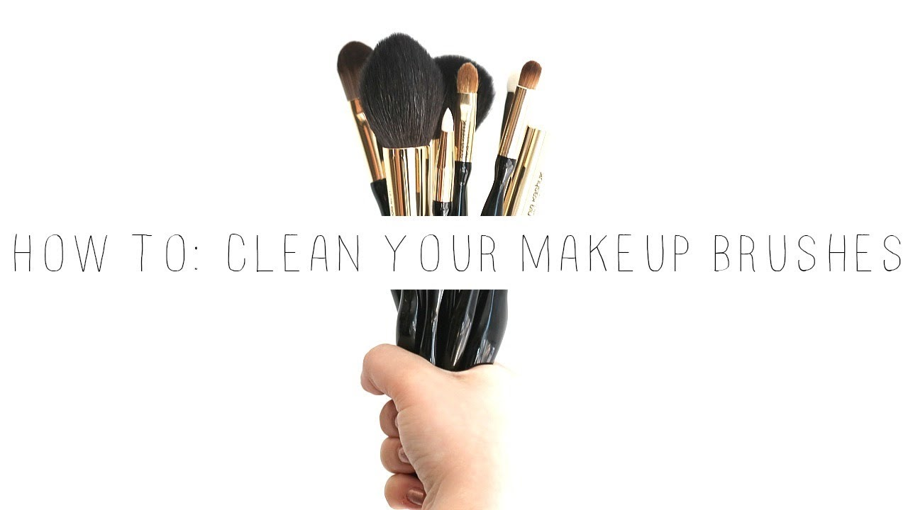 3 DIFFERENT WAYS TO CLEAN YOUR MAKEUP BRUSHES | Cammie Carter
