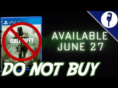 Call of Duty Modern Warfare Remastered Standalone: DO NOT BUY IT!!!!