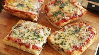 Bread Pizza Recipe | Quick and Easy Bread Pizza | 2-मिनट मैं तवा ब्रेड पिज्जा बनाने की विधि