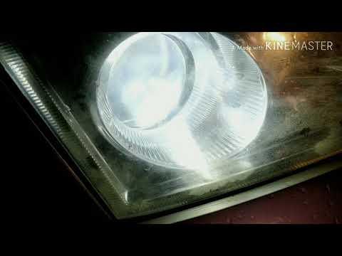 КИТАЙ! Установка светодиодных ламп в фары на Опель Вектра