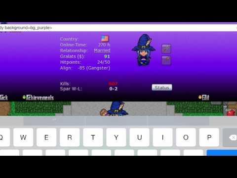 Graalonline Era Background Codes